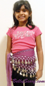 kids belly dancing costume Scarf