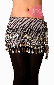 animal, leopard, print, belly dance, hip scarf for retail or wholesale or belly dancing, parties