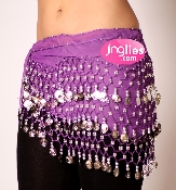 plus size hip scarf belly dance