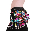 belly dancing paillettes